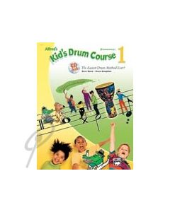 Alfred's Kid's Drum Course Book 1 with CD