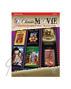Classic Movie Instrumental Solos Mallets