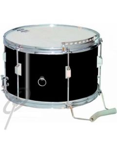 "Lefima 14x8.5"" U/L Snare Drum 6lug Black"