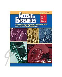 Accent on Ensembles Oboe Book 1
