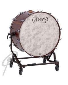 """Adams Concert Bass Drum 36""""x18""""-tilt stand"""