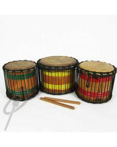 African Rhythms Mini Dun Set of 3
