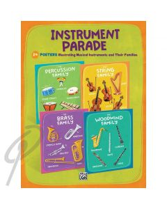 Alfred Instrument Parade Posters Set 24