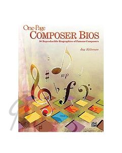 One Page Composer Bios