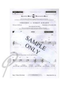 AMEB Grade 1 Prac Theory Paper ('05)POP