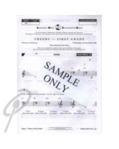 AMEB Grade 3 Practice Theory Paper POP