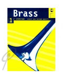 AMEB Brass Book- C Bass Clef Grades 1&2