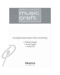 Music Craft AMEB Grade 4 Theory Pack