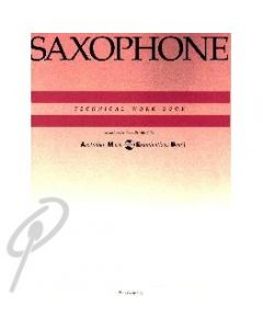 AMEB Technical Workbook For Sax -OLD