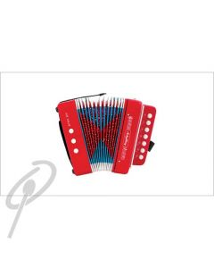 AMS Junior Button Accordion - Red Pearl