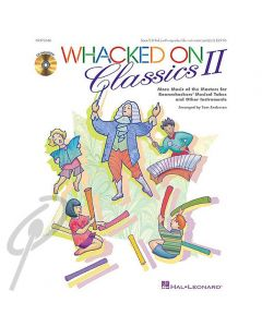 Whacked on Classics Volume 2 (Book with CD)