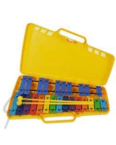 Angel Chromatic Glockenspiel - 25 Coloured Bars G2-G4