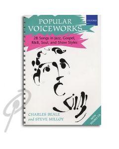 Popular Voiceworks - 28 Songs Book/CD