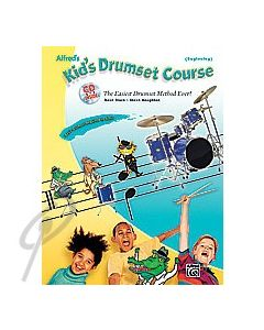 Alfred's Kid's Drumset Course with CD