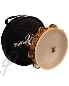 "Black Swamp 10"" Chromium/German Silver tambourine"