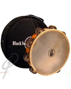 "Black Swamp 10"" SoundArt Chromium dbl row tambourine"