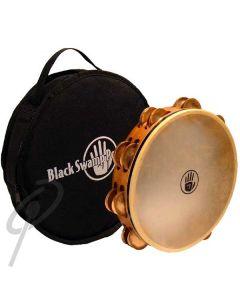 "Black Swamp 10"" SoundArt Beryllium Copper dbl row tambourine"