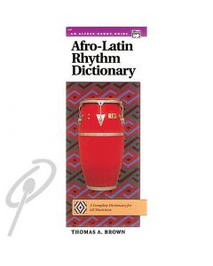Afro-Latin Rhythm Dictionary