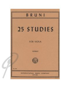 Twenty-Five Studies for Viola