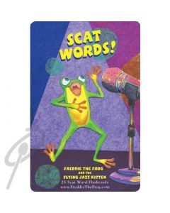 Freddie Flash Cards: Flying Jazz Kitten - Scat Words
