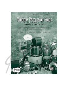 Multiple Percussion Solos- Elementary
