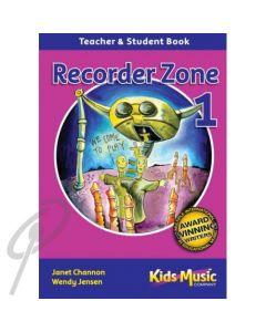 Recorder Zone Book 1 w/Digital Download