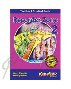 Recorder Zone Book 2 w/Digital Download