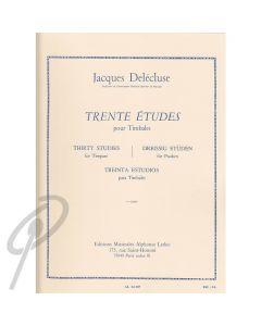 30 Etudes for Timpani v2 (Trente Etudes)