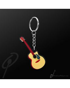 Key Chain Acoustic Guitar