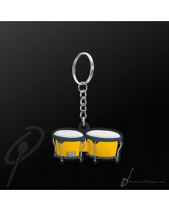 Key Chain Bongos Yellow