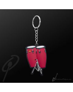 Key Chain Congas Red