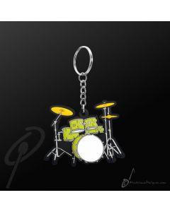 Key Chain Drumkit Green
