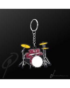 Key Chain Drumkit Red