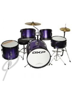 DXP Junior Drum Kit 5piece - Metallic Purple