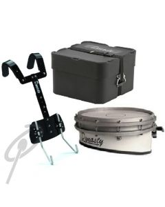 Dynasty Wedge Snare Drum w/T-Bar Carrier + Case