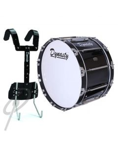 """Dynasty 24x14"""" bass drum w/T-max carrier"""