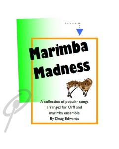 Marimba Dances For Solo Marimba