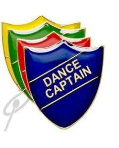 Dance Captain Red Shield