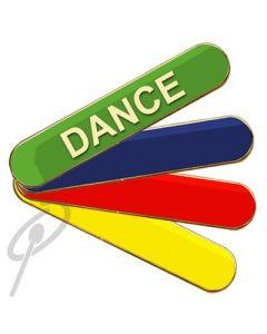 Dance School Badge Red Bar