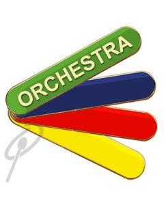 Orchestra Badge Blue Bar