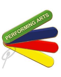 Performing Arts Badge Blue Bar