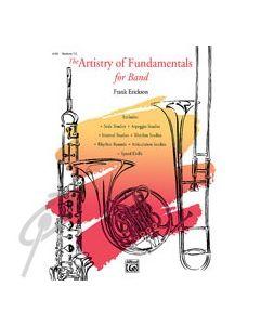 Artistry of Fundamentals - Baritone Sax