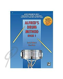 Alfred's Drum Method Book 1 with DVD