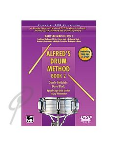 Alfred's Drum Method Book 2 with DVD