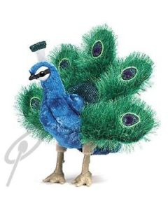 Folkmanis Small Peacock Puppet