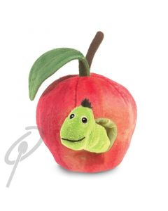 Folkmanis Worm in Apple Puppet