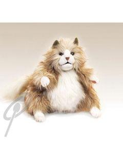 Folkmanis Fluffy Cat Puppet
