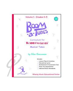 Boom-a-Tunes Curriculum Vol 1 w/CD Gr K-3
