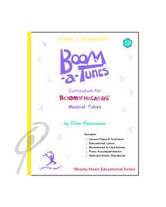 Boom-a-Tunes Curriculum Vol 3 w/CD Gr 3-6