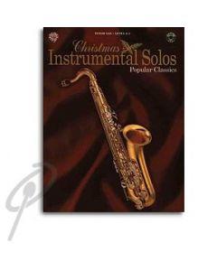 Christmas Instrumental Solos Tenor Sax Book/Cd